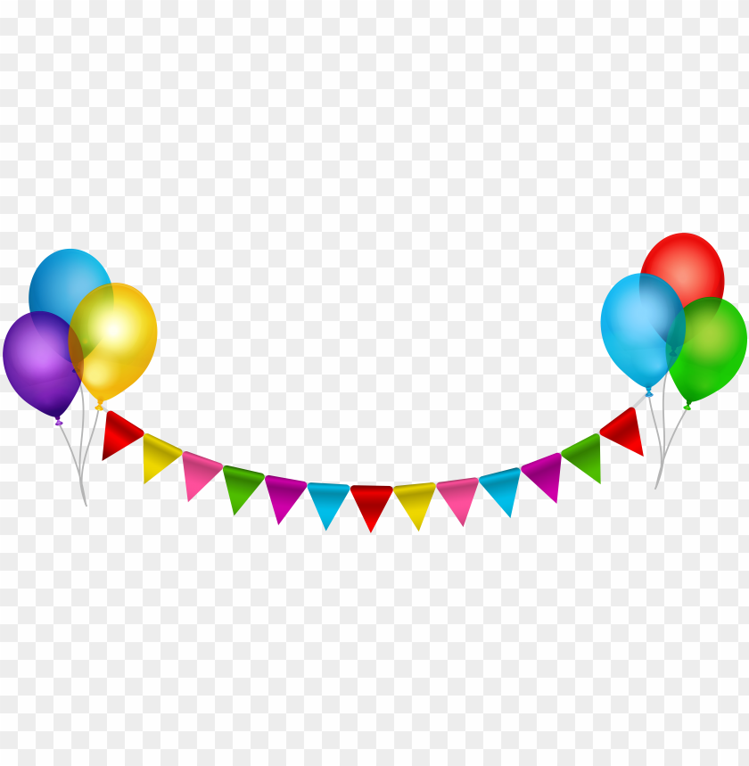 Balloon Clip Art Balloons And Streamers Clipart Png Image With Transparent Background Toppng
