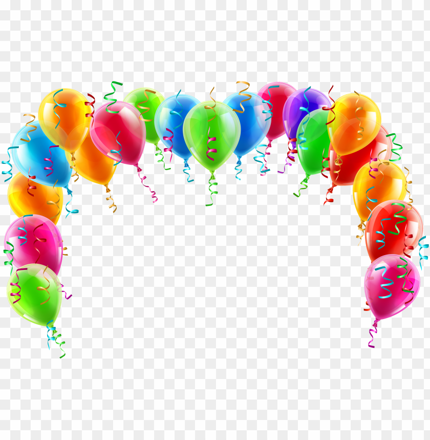 free PNG balloon frame jpg huge freebie download - balloon arch clip art PNG image with transparent background PNG images transparent