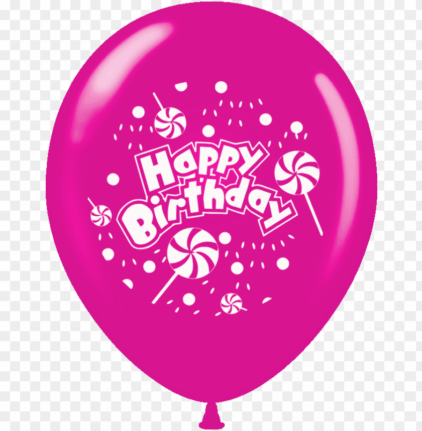 free PNG balloons printed happy birthday 1 side 15 pcs pack - happy birthday balloon color PNG image with transparent background PNG images transparent