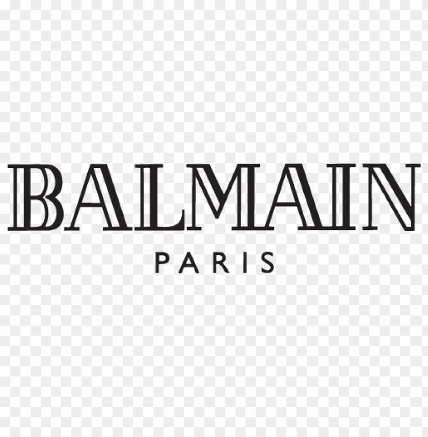 free PNG balmain logo vector PNG images transparent
