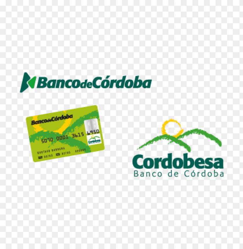 free PNG banco de cordoba vector logo PNG images transparent
