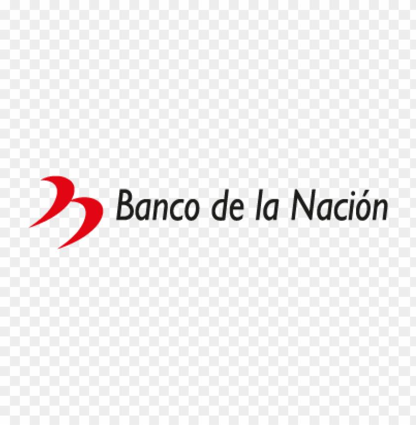 free PNG banco de la nacion vector logo PNG images transparent