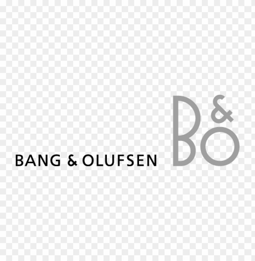 free PNG bang & olufsen (b&o) logo vector PNG images transparent