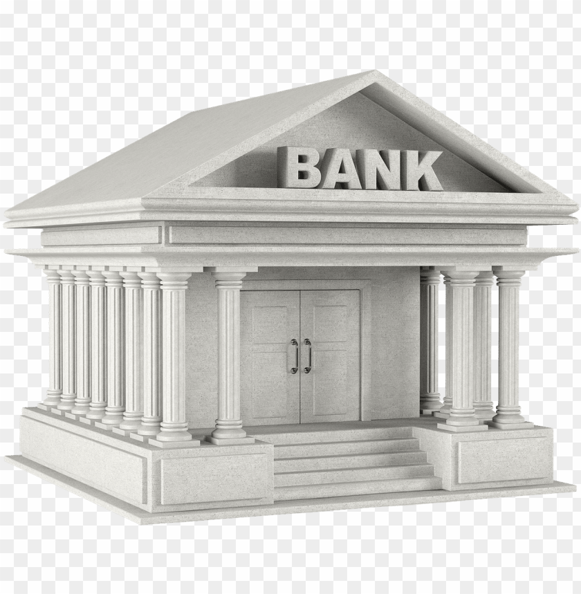 free PNG bank png picture - bank icon 3d PNG image with transparent background PNG images transparent