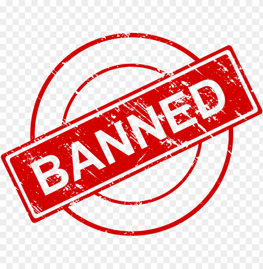 free PNG banned stamp png - Free PNG Images PNG images transparent