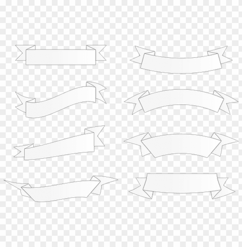 free PNG banner band form label ornament greeting s - forma de banner PNG image with transparent background PNG images transparent