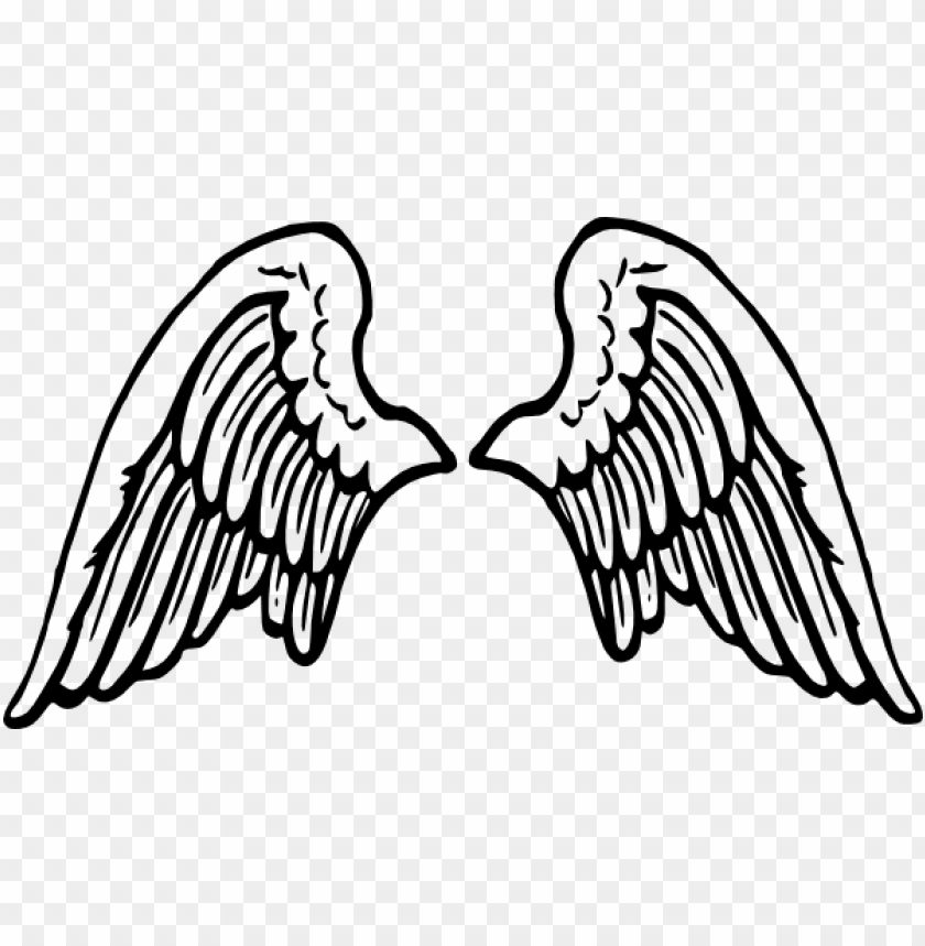 banner download clip art at clker com vector online - cartoon angel wings PNG image with transparent background@toppng.com