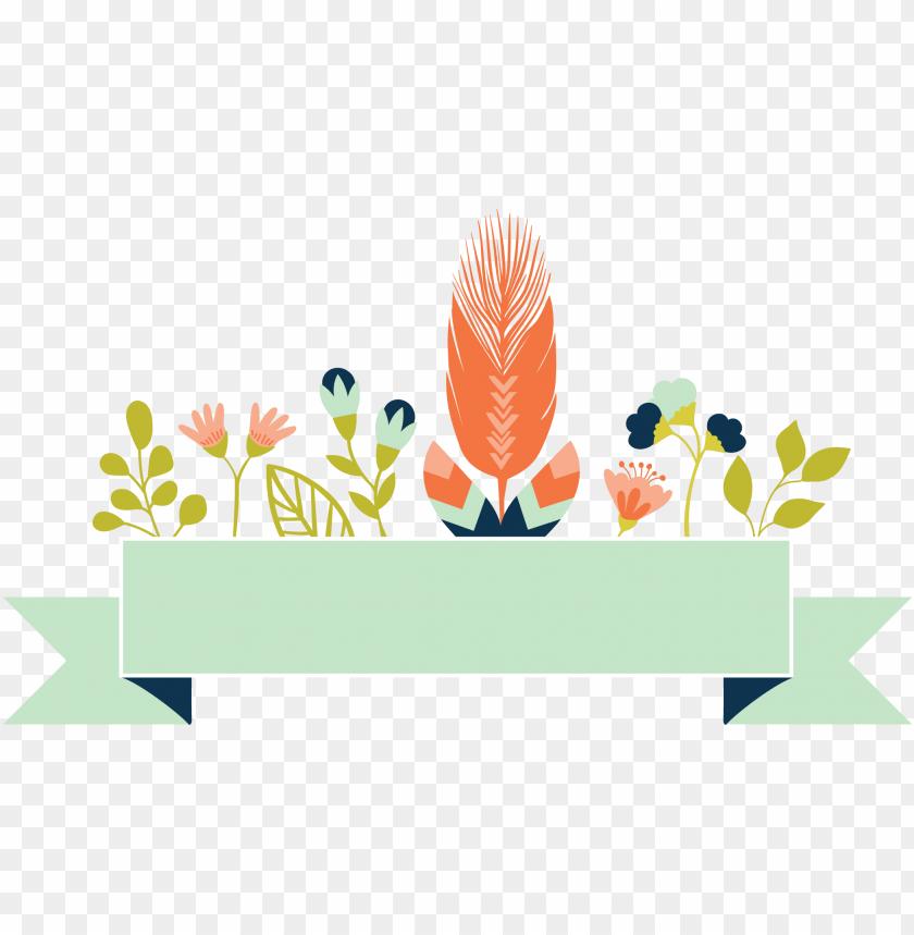 free PNG banner floral png - flower banner PNG image with transparent background PNG images transparent