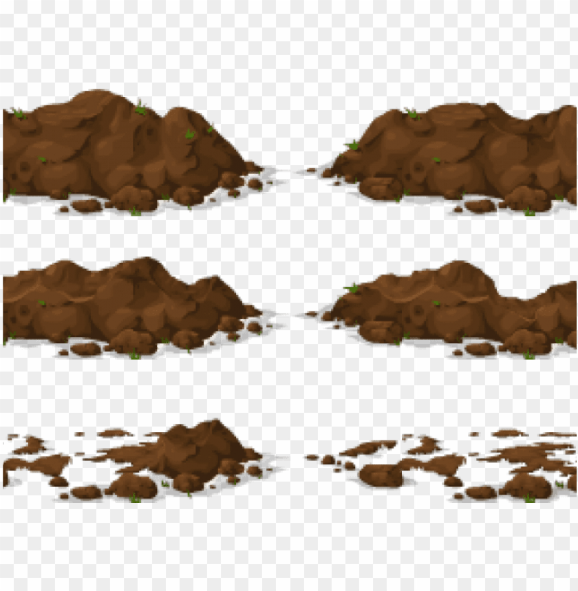 Banner Free Dirt Clipart Free On Dumielauxepices Net Vector Soil Pile Png Image With Transparent Background Toppng