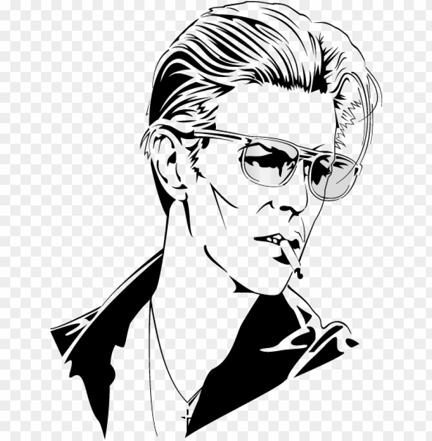 free PNG banner library david bowie printable coloring pages - david bowie vector art PNG image with transparent background PNG images transparent