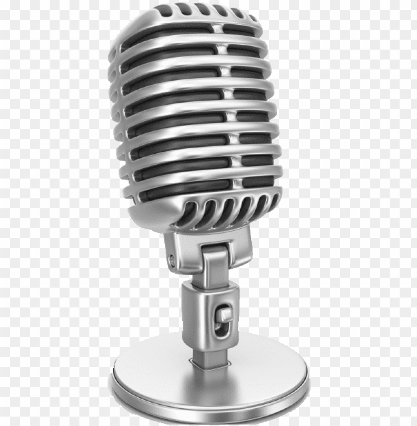 Banner Library Download Singing Clipart Microphone Old School Microphone Png Image With Transparent Background Toppng