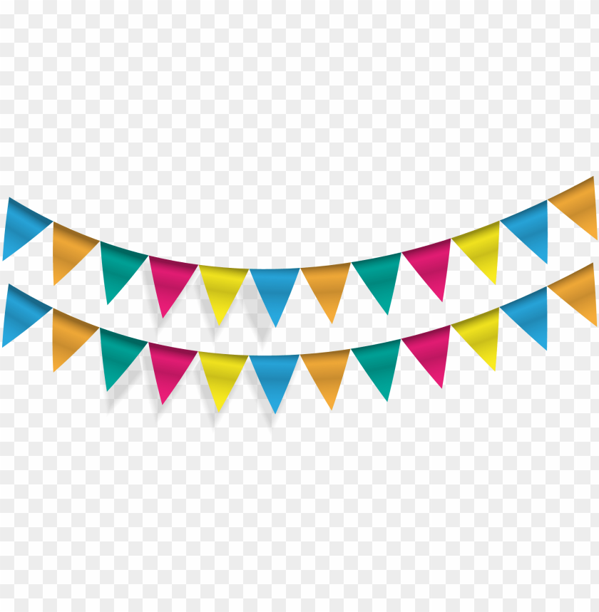 Banner Library Pennon Party Bunting Vector Flags Transprent Triangle Flag Banners Clip Art Png Image With Transparent Background Toppng