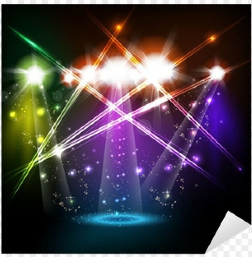 free PNG banner neon light stage background for your text sticker - banner neon light stage background PNG image with transparent background PNG images transparent