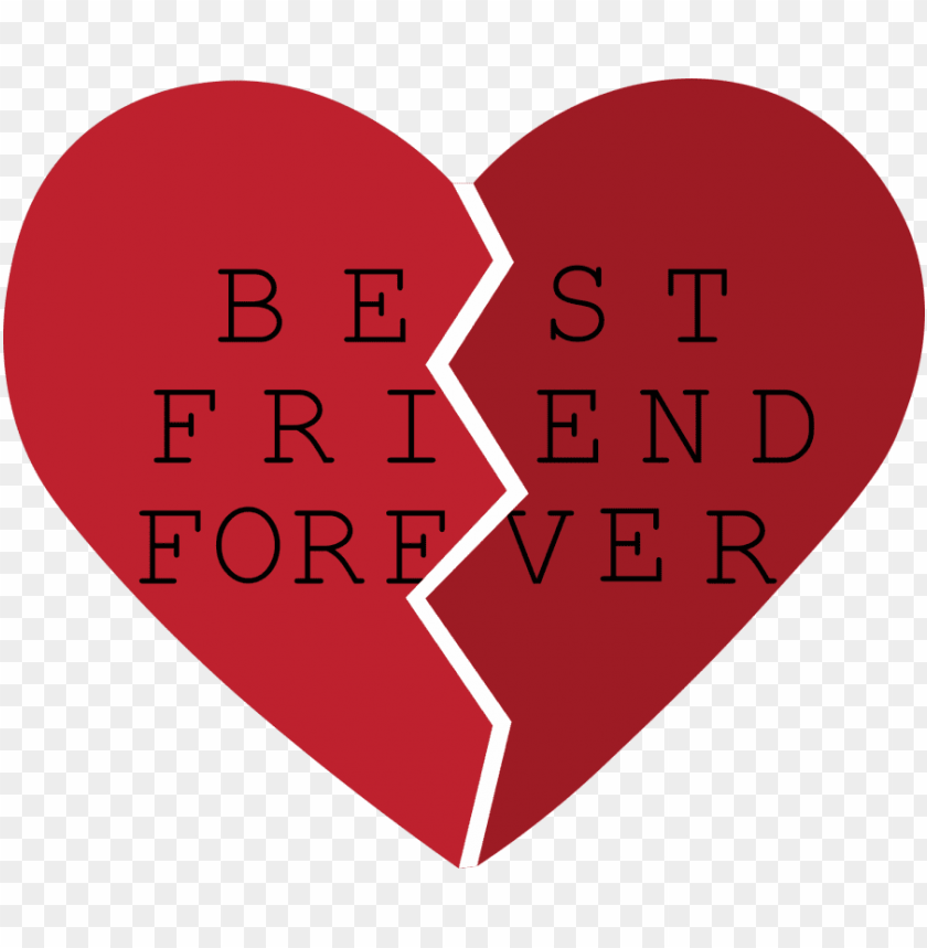 free PNG banner royalty free best friends heart clipart - best friends heart PNG image with transparent background PNG images transparent