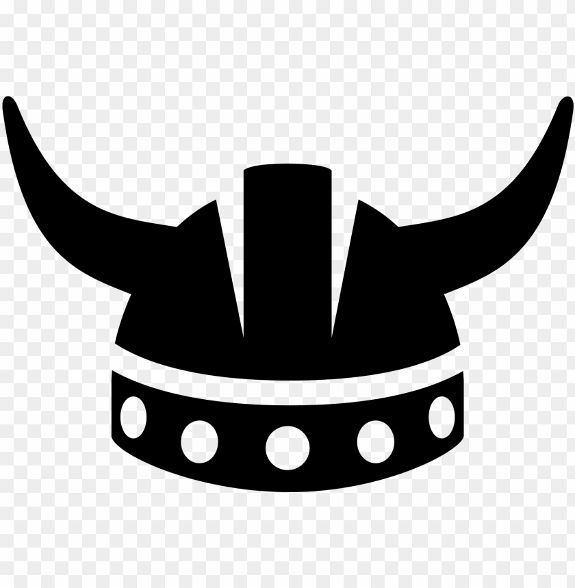 free PNG banner royalty free computer icons helmet clip art - black and white viking clipart PNG image with transparent background PNG images transparent