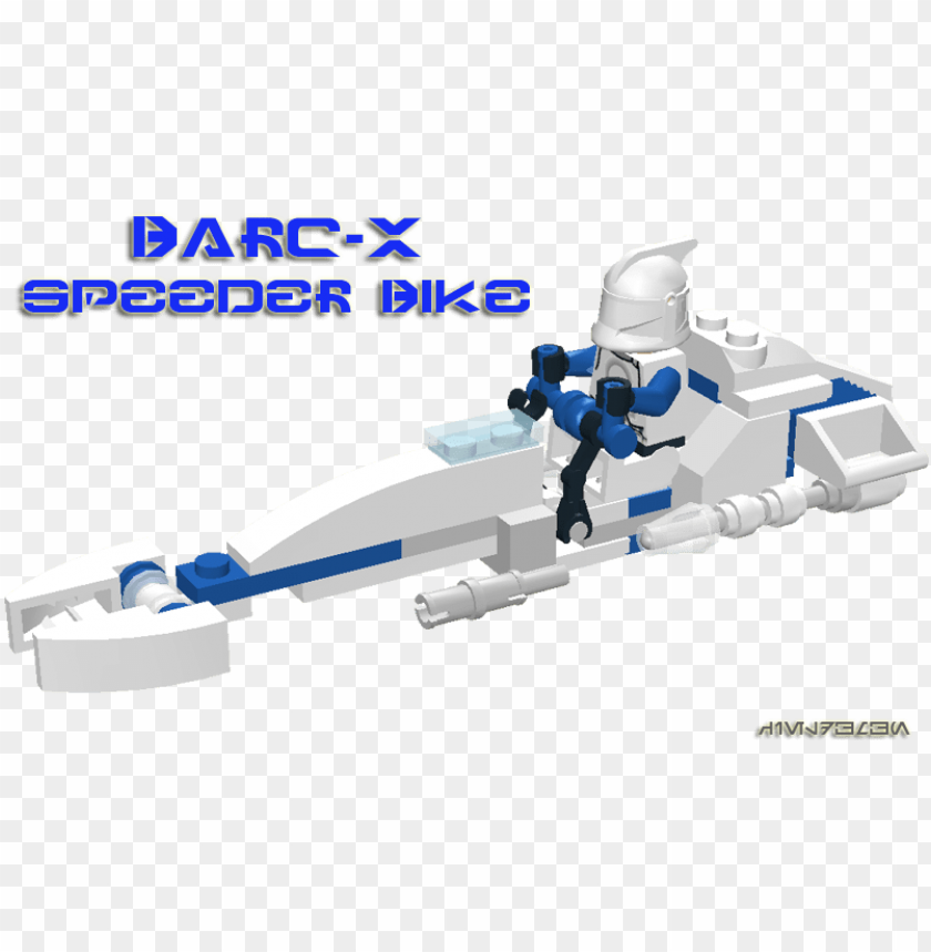 free PNG barc-x speeder bike - lego star wars clone wars speeder bike PNG image with transparent background PNG images transparent