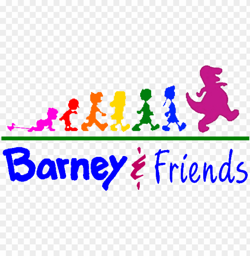 free PNG barney and friends logo - barney and friends posters PNG image with transparent background PNG images transparent