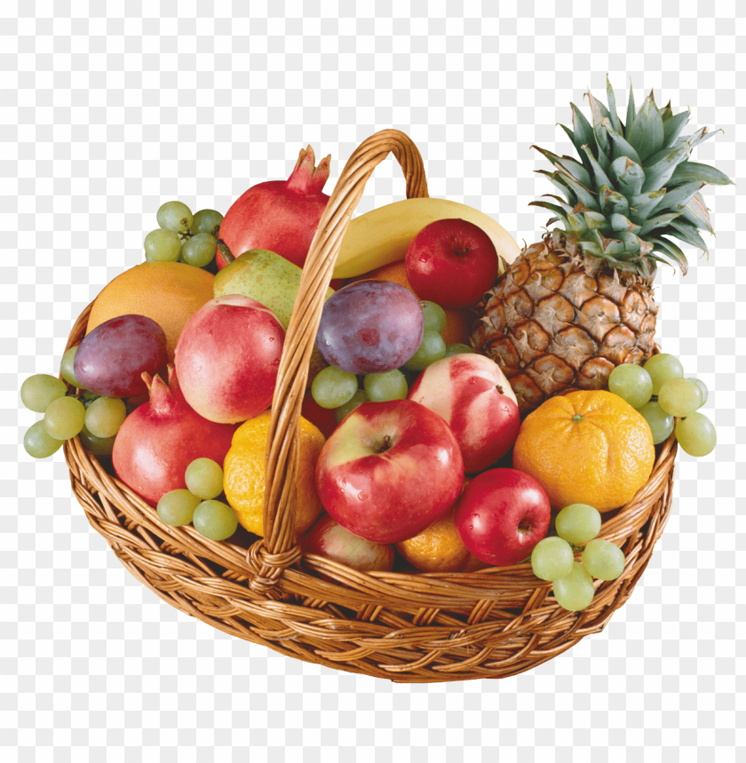 free PNG Download basket with fruits clipart png photo   PNG images transparent