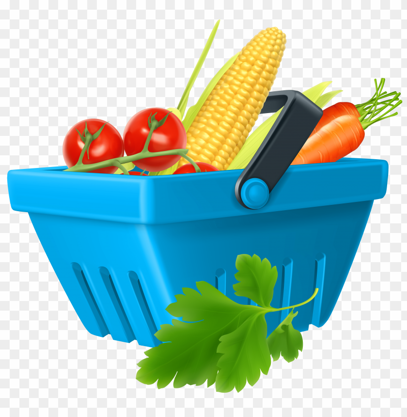 free PNG Download basket with vegetables clipart png photo   PNG images transparent