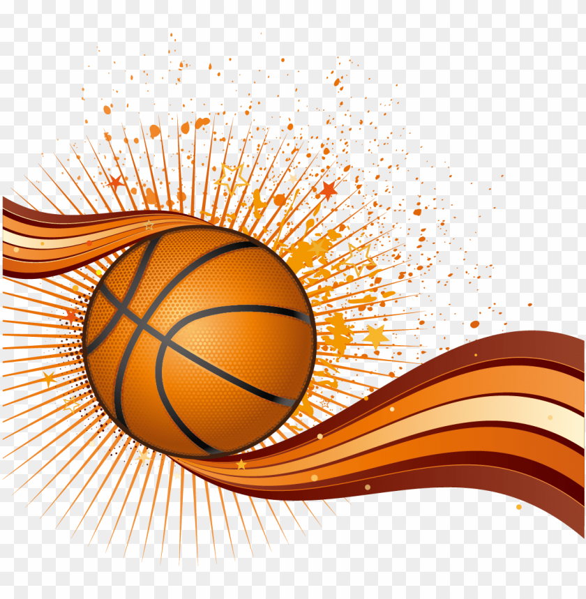 free PNG basketball euclidean vector - watercolor basketball PNG image with transparent background PNG images transparent