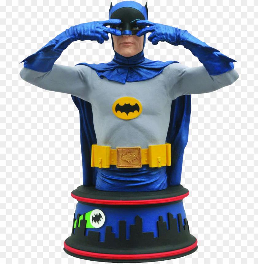 free PNG batman - batman 1966 batusi bust PNG image with transparent background PNG images transparent