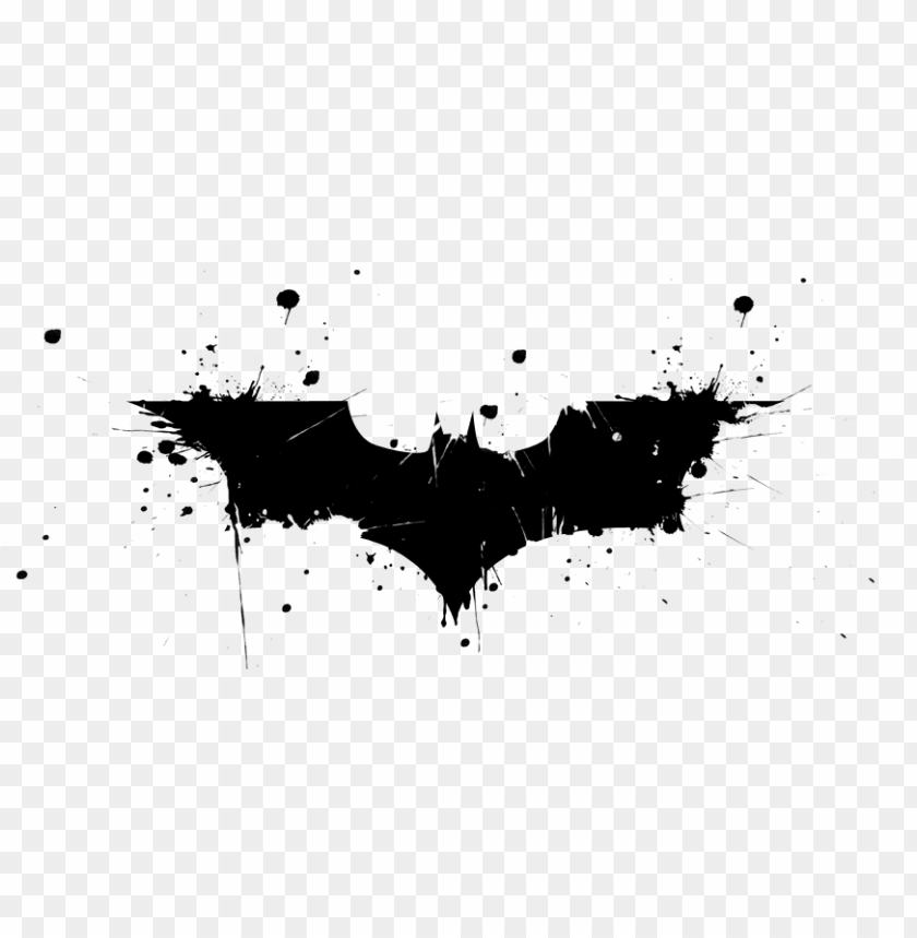 free PNG batman logo dark knight - batman dark knight rises logo PNG image with transparent background PNG images transparent