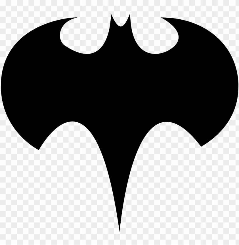 batman logo silhouette - batman logo PNG image with transparent background@toppng.com