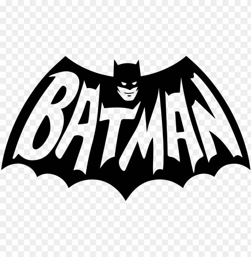 free PNG batman logo vintage retro comic book vector black - batman logo PNG image with transparent background PNG images transparent