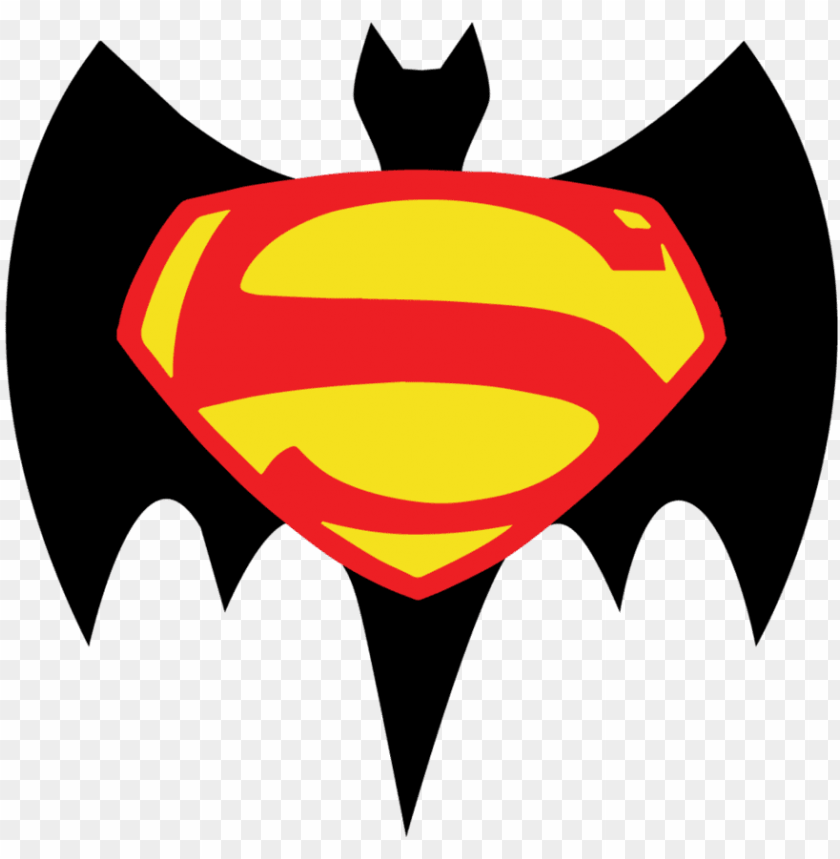 Batman Superman Logo Png Image With Transparent Background Toppng