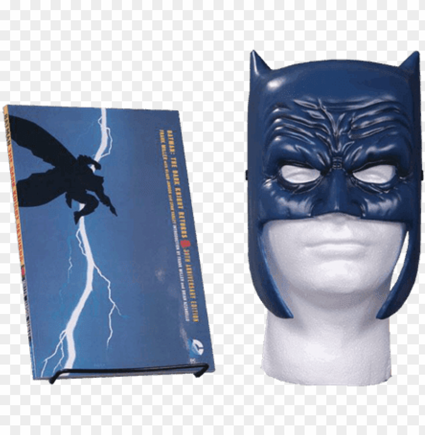 free PNG batman the dark knight returns book and mask set PNG image with transparent background PNG images transparent