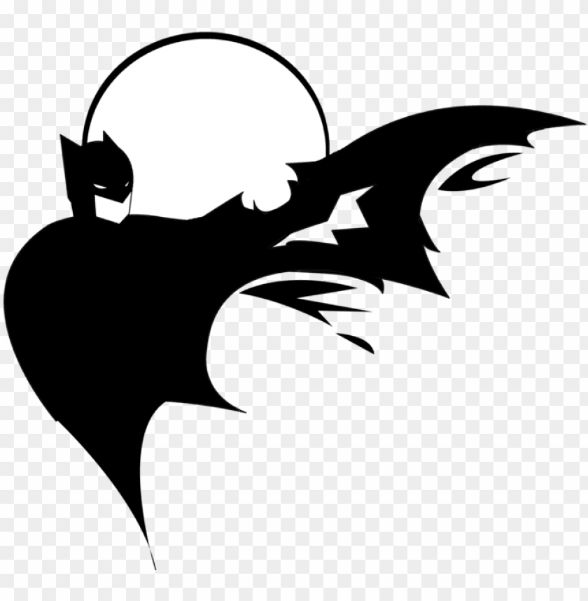 free PNG bats silhouette by chrisyaro - batman silhouette vector PNG image with transparent background PNG images transparent