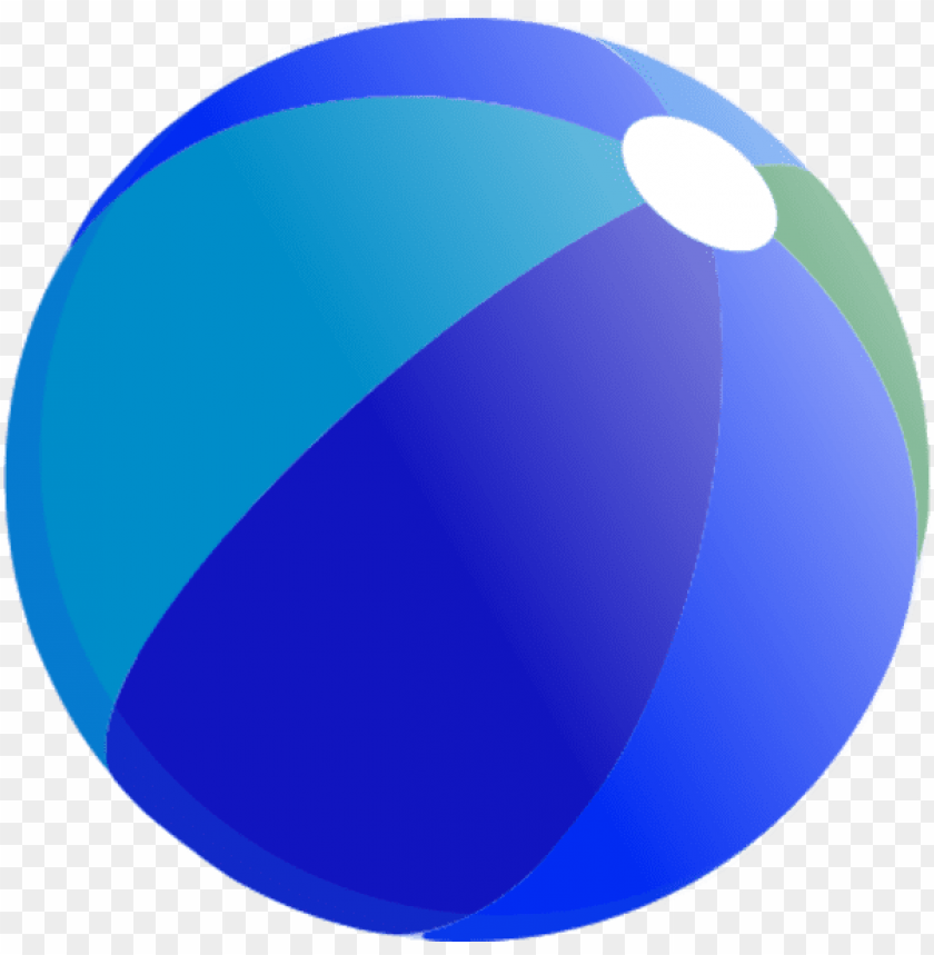 free PNG beach ball vector clip art - blue beach ball clipart PNG image with transparent background PNG images transparent