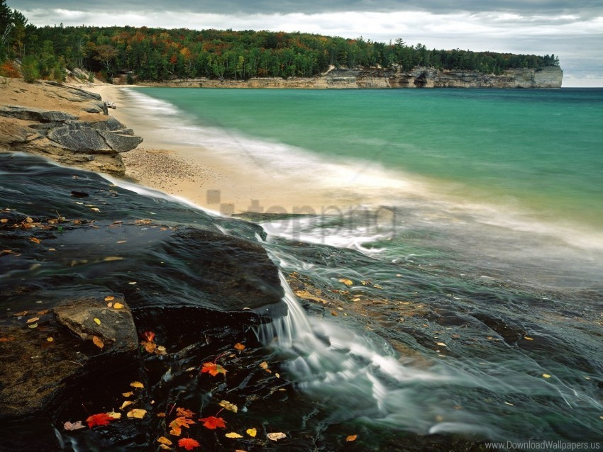 free PNG beach, chapel, lake, superior wallpaper background best stock photos PNG images transparent
