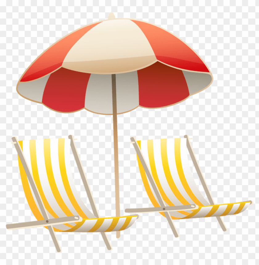 free PNG Download beach umbrella and chairs clipart png photo   PNG images transparent
