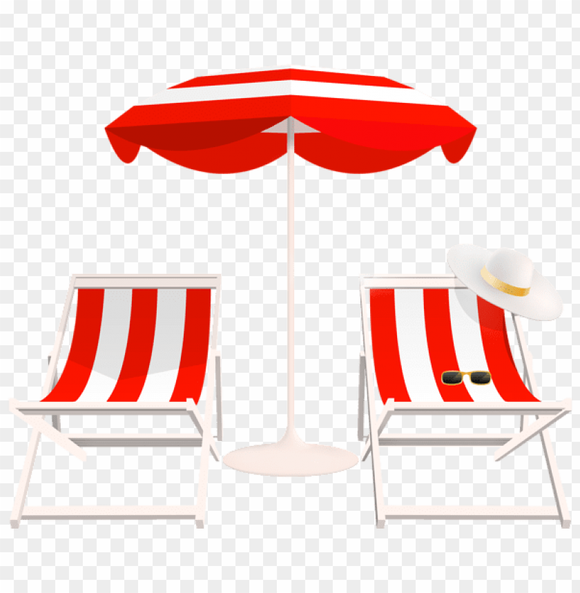 free PNG Download beach umbrella and chairs png clipart png photo   PNG images transparent