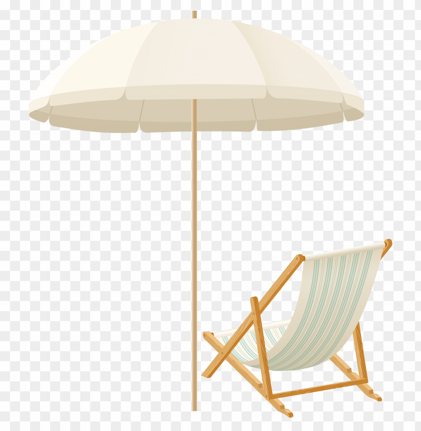 Download beach umbrella with chair clipart png photo  @toppng.com