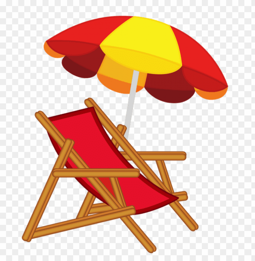 free PNG Download beach umbrella with chair clipart png photo   PNG images transparent