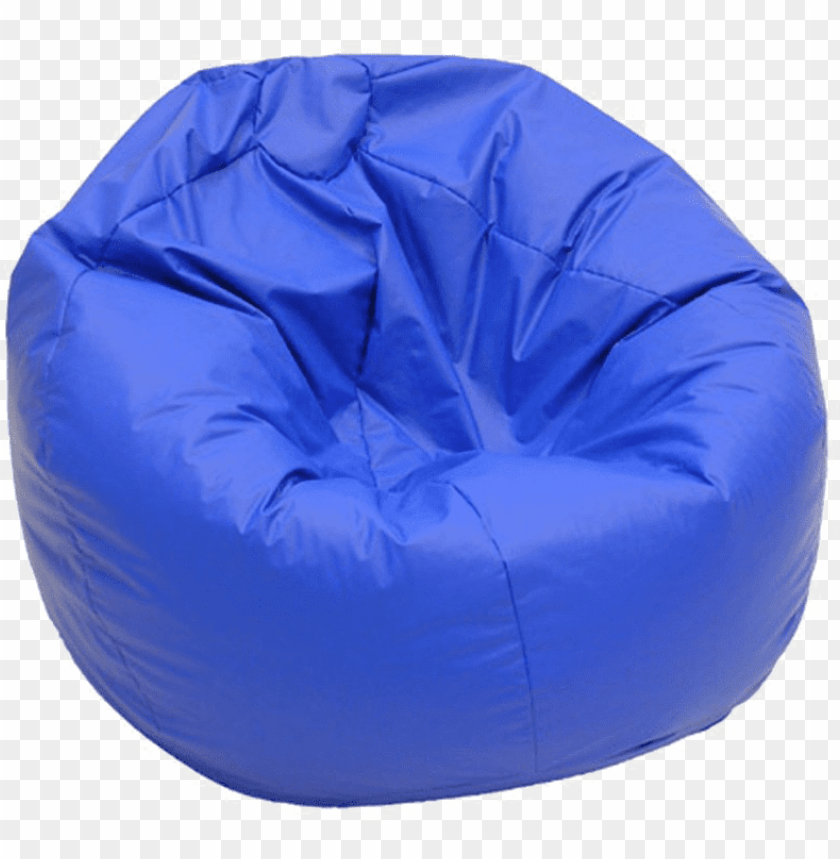 free PNG bean bag png transparent image - bean bag chair dark blue PNG image with transparent background PNG images transparent