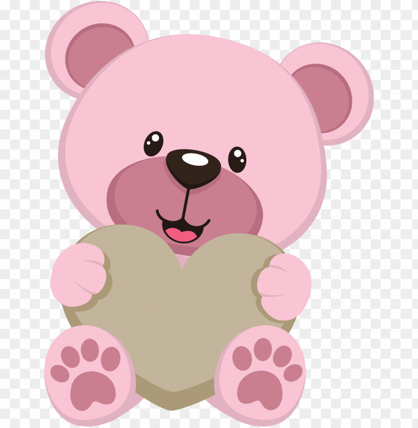 free PNG bear clipart, teddy bear party, cute teddy bears, teddy - pink teddy bear clipart PNG image with transparent background PNG images transparent