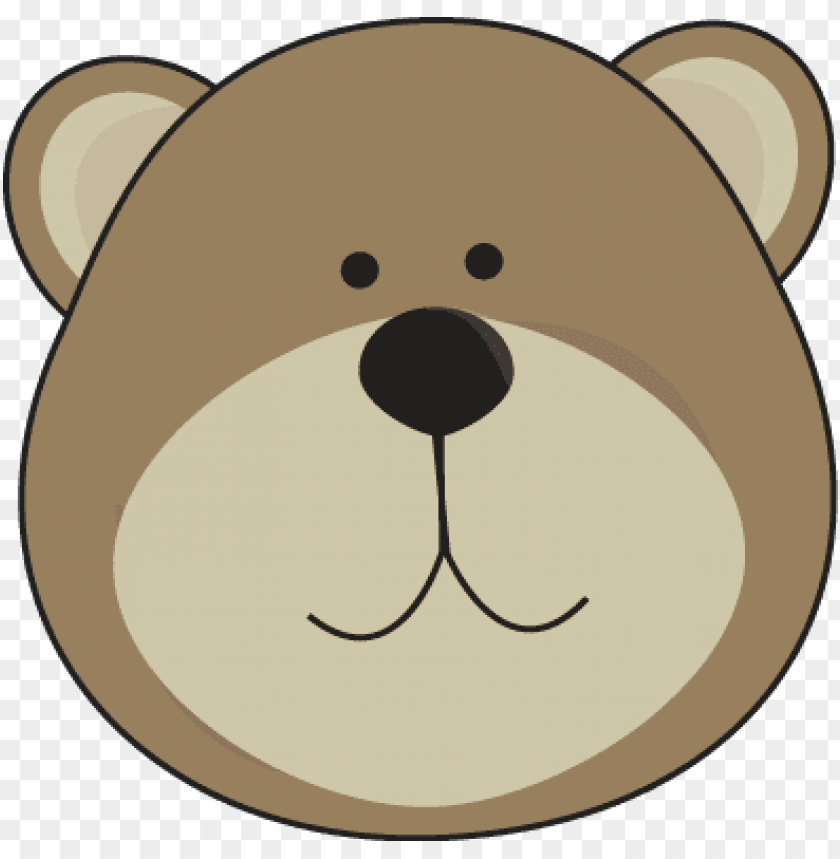 free PNG bear face clipart bear clip art bear images teddy bear - bear head clip art PNG image with transparent background PNG images transparent