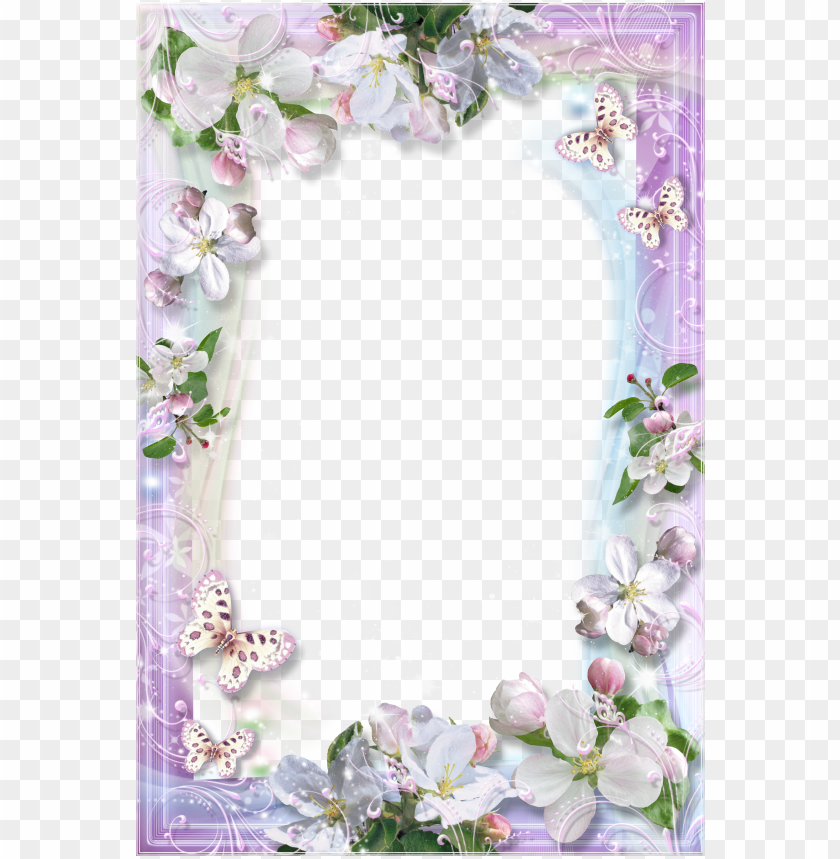 free PNG beautiful flowers transparent frame gallery yopriceville - beautiful transparent frame flowers PNG image with transparent background PNG images transparent
