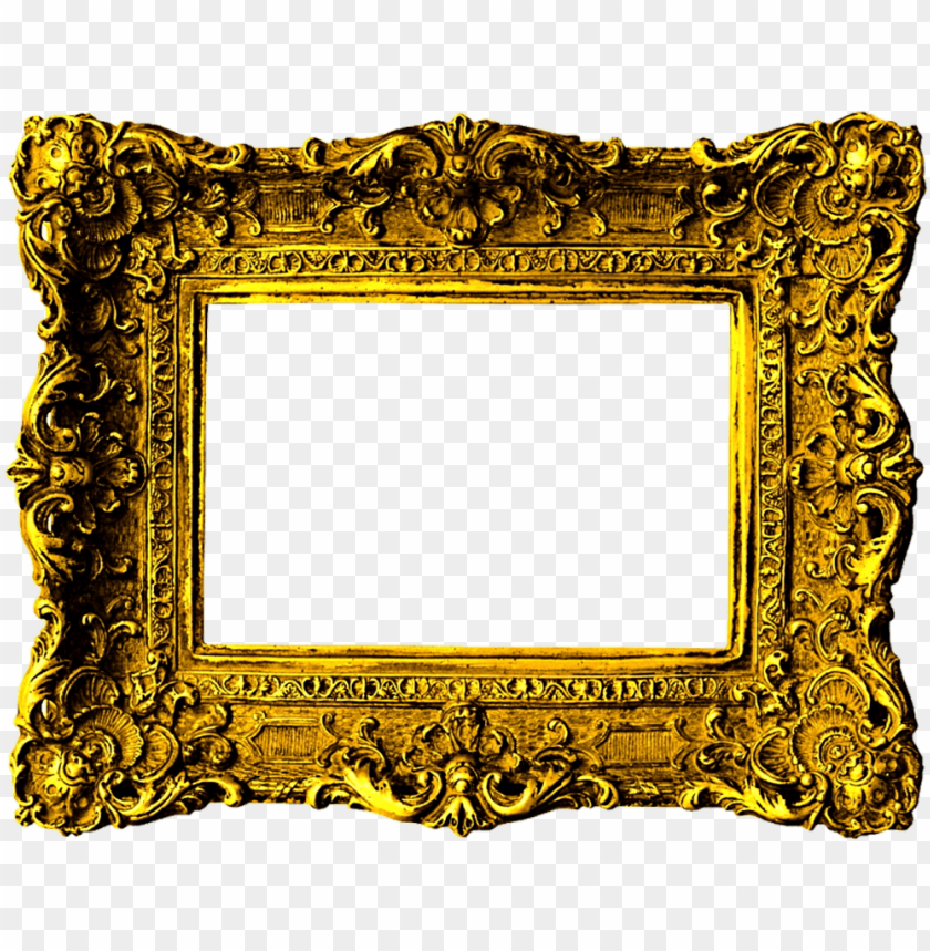 free PNG beautiful gold victorian frame by jeanicebartzen27 - gold victorian picture frame PNG image with transparent background PNG images transparent