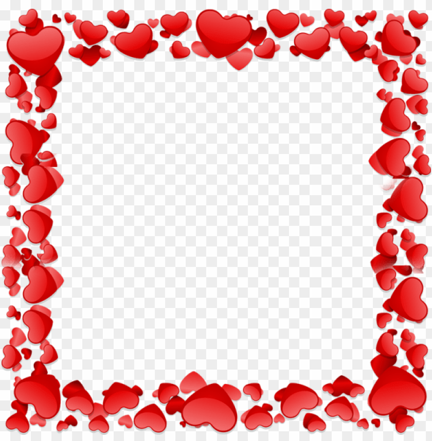 free PNG beautiful heart frame, beautiful heart vector, heart - heart shape frame PNG image with transparent background PNG images transparent