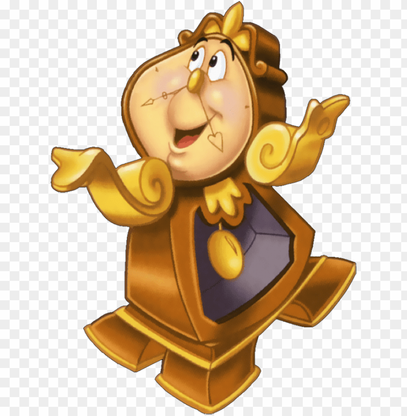 Beauty And The Beast Clock Png Image With Transparent Background Toppng