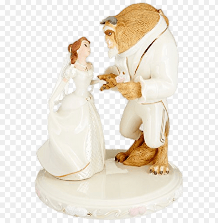 free PNG beauty and the beast wedding figurines PNG image with transparent background PNG images transparent