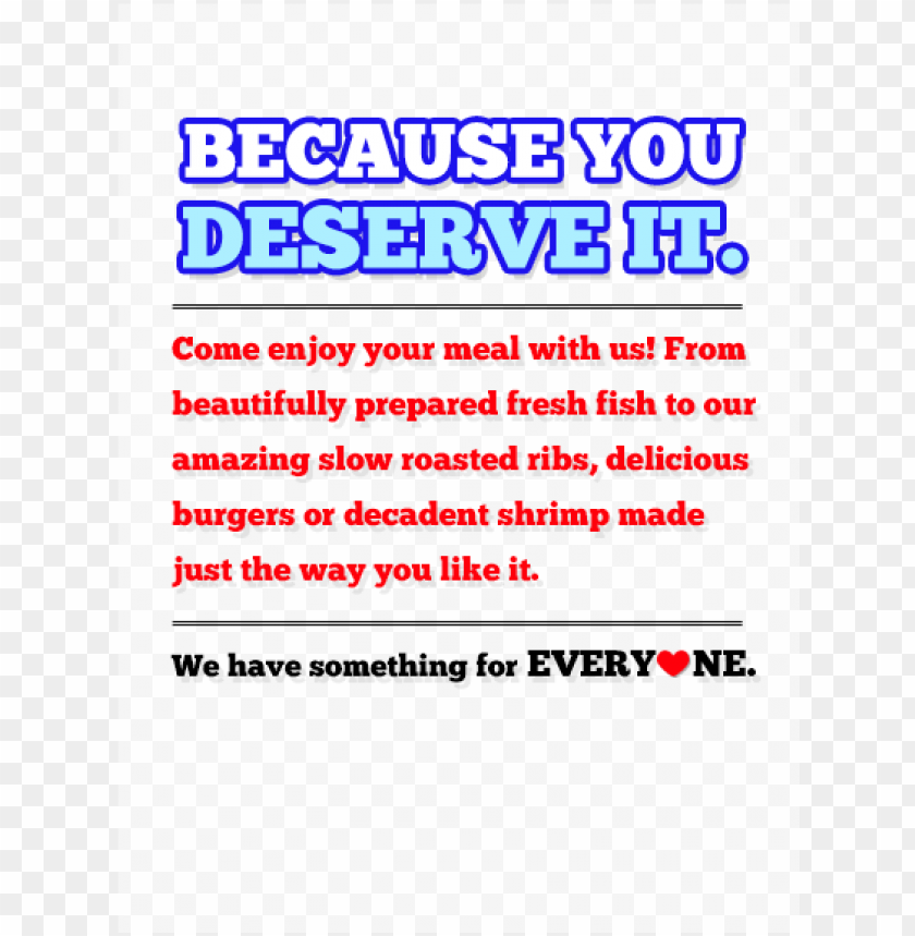 free PNG because you deserve it come enjoy your meal with us - bonnie bear PNG image with transparent background PNG images transparent