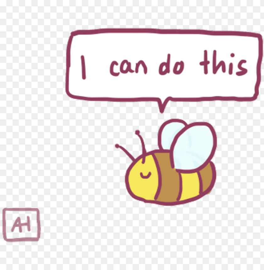 free PNG bee sticker - cute stickers tumblr PNG image with transparent background PNG images transparent