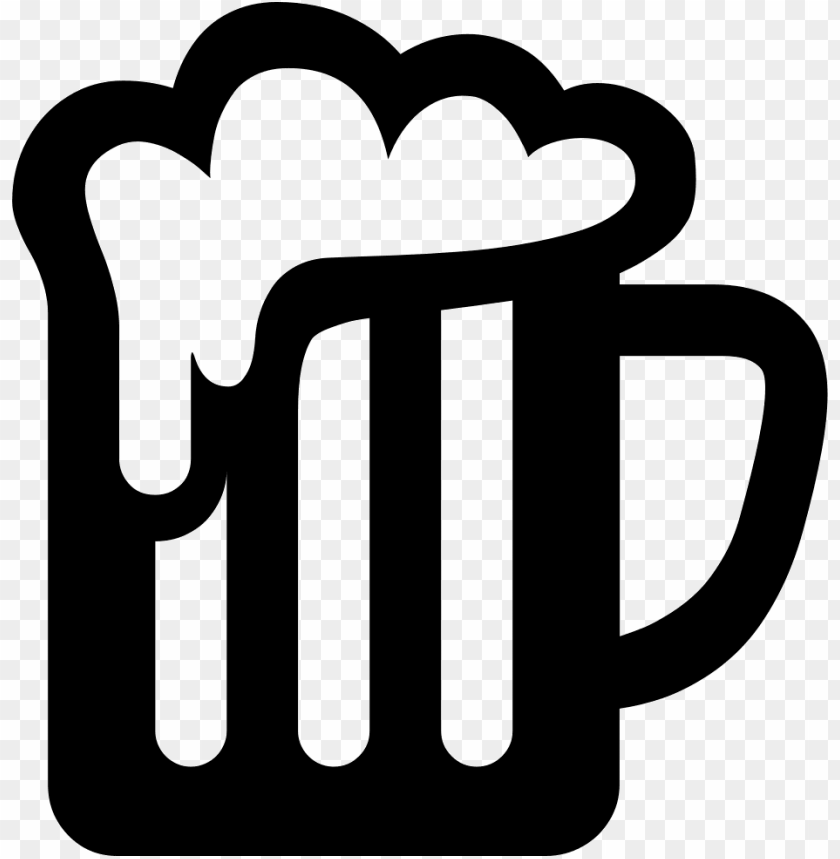 free PNG beer icon png - beer mug svg free PNG image with transparent background PNG images transparent