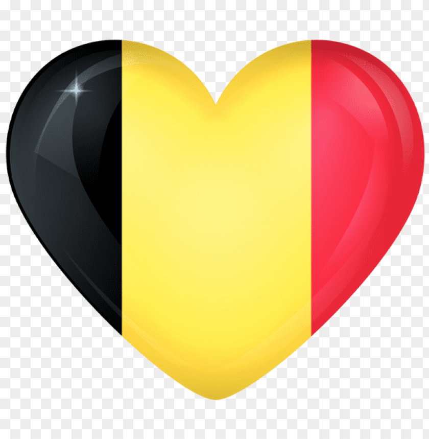 Download Belgium Heart Flag Clipart Png Photo Toppng