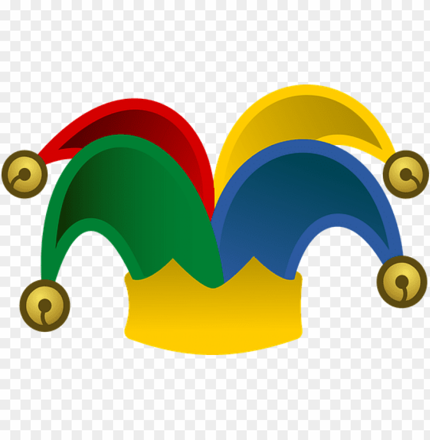 free PNG bells blue fool fool's hat green hat icon - april fools day ico PNG image with transparent background PNG images transparent